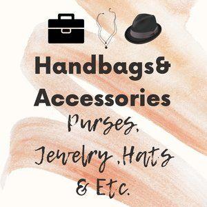 Handbags & Accessories (Purses, Jewelry , Hats & Etc.)